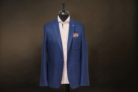 Blazer Ornella Luigi royal blue