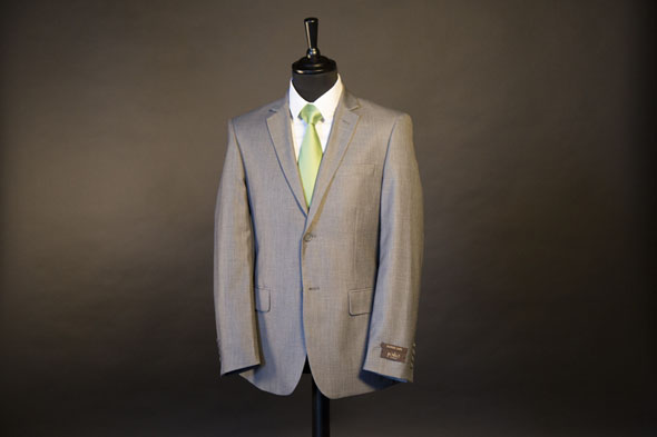 Costume Homme Podio Gris Clair